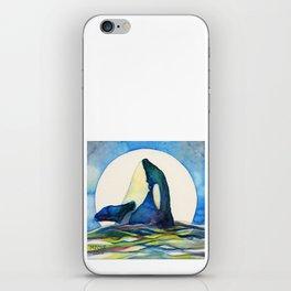 Orca Moon iPhone Skin