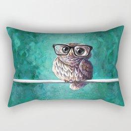 Intellectual Owl Rectangular Pillow