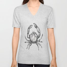 Crab Unisex V-Neck