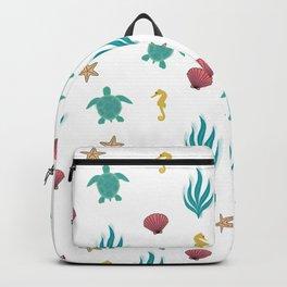 Ocean Pattern Backpack
