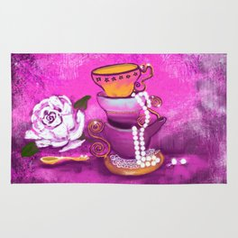 Cups and Pearls Rug