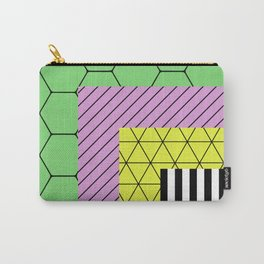 Go Bigger (Abstract, geometric, pastel designs) Carry-All Pouch