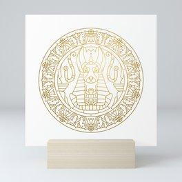 Anubis Mandala – Egypt Mini Art Print