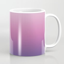 Pink Ultra Violet Ombre Gradient Pattern Coffee Mug