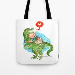 Jurassic World Hug Tote Bag