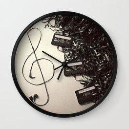 Feel The Music Wall Clock