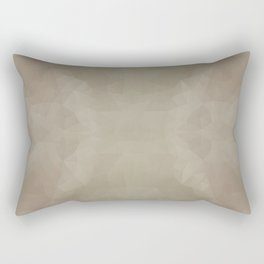 """Milk chocolate"" triangles design Rectangular Pillow"