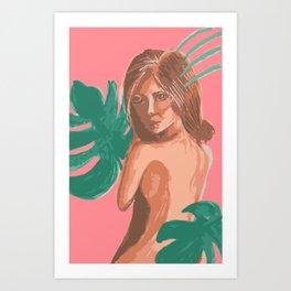 Beauty in the Jungle Art Print