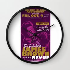 James Brown Wall Clock