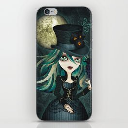Raven's Moon iPhone Skin
