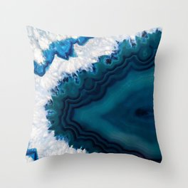 Sea Gem Throw Pillow