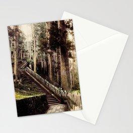 Stone Steps - Japan Nikko Stationery Cards