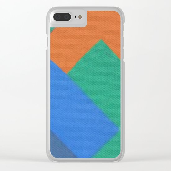 Colors 2 Clear iPhone Case