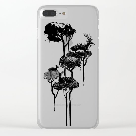 Deer to Dream Clear iPhone Case