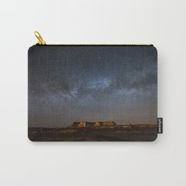 Across the Universe - Milky Way Galaxy Above Mesa in Arizona Carry-All Pouch