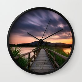 Escape II Wall Clock