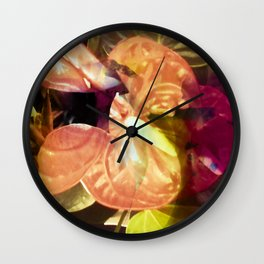 """""""Passion's Song"""" Wall Clock"""