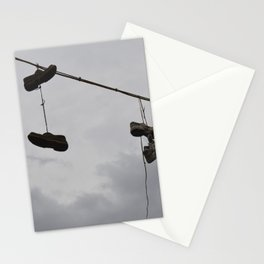 Shoes In The Air Stationery Cards