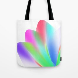 Fanned (on White) Tote Bag