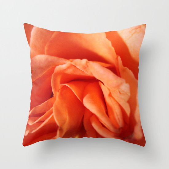 Rosa Vieja Throw Pillow