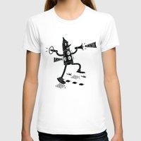 propaganda T-shirts featuring Propaganda Bot by Ahnix