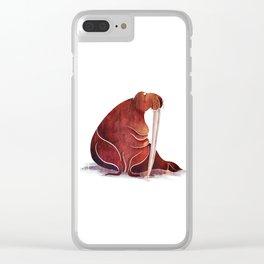 Walrus Clear iPhone Case
