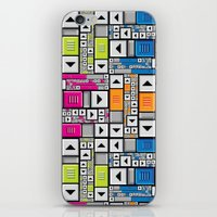 popart iPhone & iPod Skins featuring ScrollBar PopArt by Roberlan Borges