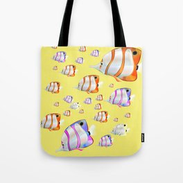 Tropical fish Yellow edition Tote Bag