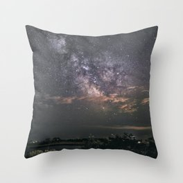 Milkyway at Loblolly Cove Throw Pillow