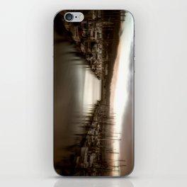 Unbalanced Half Moon Bay California iPhone Skin