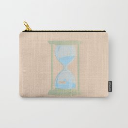 RUNNING OUT OF TIME Carry-All Pouch