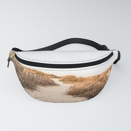 Beach Sand Dunes Fence Fanny Pack