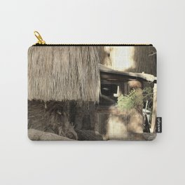 Cabin in the Oasis Coachella Valley Wildlife Preserve Carry-All Pouch