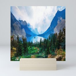 Beautiful Wilderness Landscape Photograph Mini Art Print