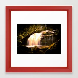Appalachian Waterfall Framed Art Print