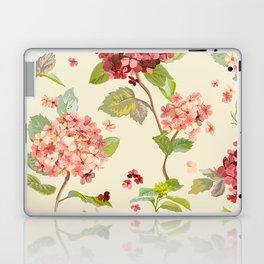 Fall Hydrangeas, Floral Print Laptop & iPad Skin