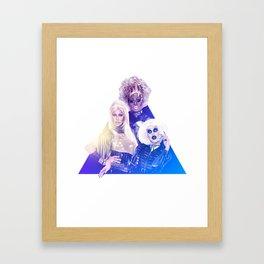 Drag Trinity Framed Art Print