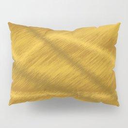 Yellow Mustard Gold Paint Minimalism Pillow Sham