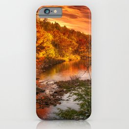 A Touch of Autumn iPhone Case