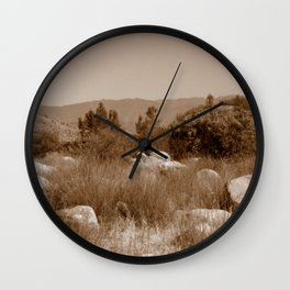 The Scenic Route Wall Clock