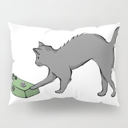 Kitty with a phaser pedal Pillow Sham