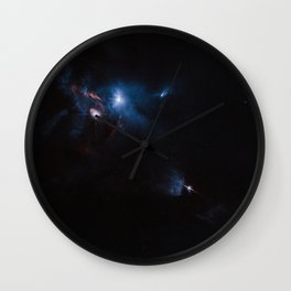 Hubble Space Telescope - Jets, bubbles and bursts of light in Taurus Wall Clock