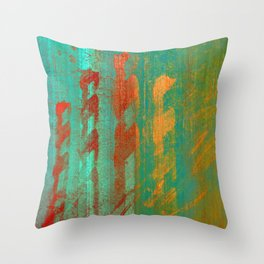 Think Before Want Throw Pillow