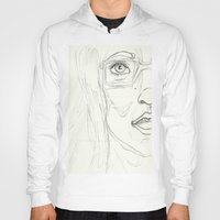 glasses Hoodies featuring Glasses by writingoverashes