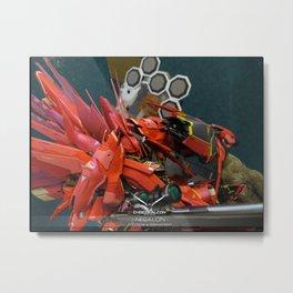 Aesalson - MG Sinanju Conversion Metal Print