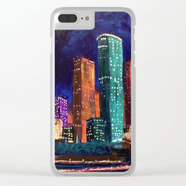 Expression Houston Clear iPhone Case