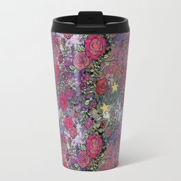 Project 52.1 | Roses on Purple and Pink Watercolor Travel Mug