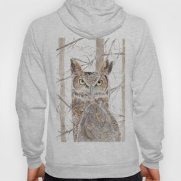 Owl in the Forest Hoody