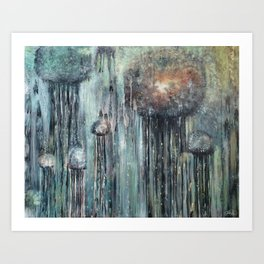 Chandeliers of the Ocean Art Print