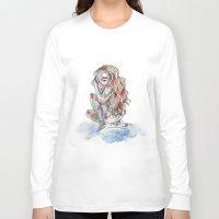 cyclops Long Sleeve T-shirts featuring Cyclops by MarieBoiseau